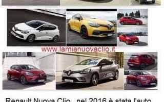 Automobili: automobili renault clio