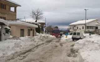 Roma: terremoto  sisma  neve  roma