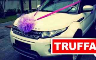 Facebook: range rover  truffa  bufale  facebook