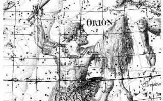 Astronomia: orsa maggiore  pleiadi  polare  stella