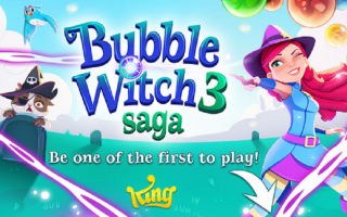Mobile games: bubble witch saga 3  android  arcade
