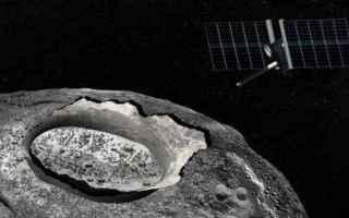 Astronomia: ferro  impatto  nichel  oro  psyche