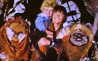 Cinema: star wars  ewoks  guerre stellari