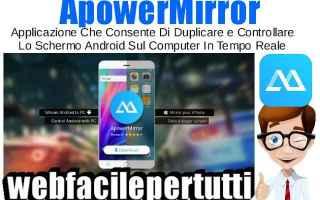 App: apowermirror app android duplicare