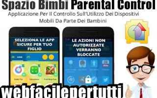 App: spazio bimbi parental control app