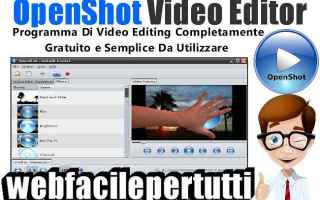 Software Video: openshot video editor   video editing