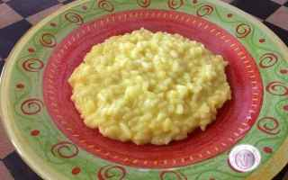 Ricette: risotto  zafferano  primi