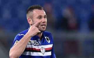 Calciomercato: sampdoria  cassano  risoluzione