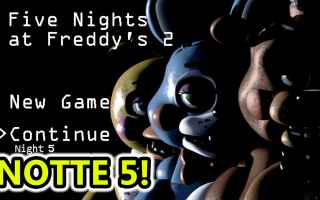 Mobile games: five nights at freddy