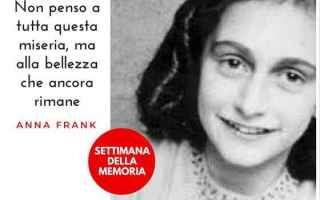 Storia: anna frank  olocausto  diario  memoria
