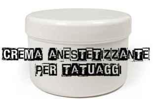 Bellezza: crema anestetizzante tatuaggio