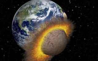 Astronomia: asteroidi  bombardamento  luna  terra