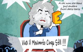 Satira: grillo  satira  m5s  sparatrap