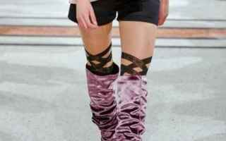 Moda: calze  collant  pantyhose  fashion week