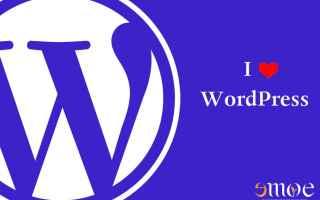 wordpress  cms  realizzazione siti web