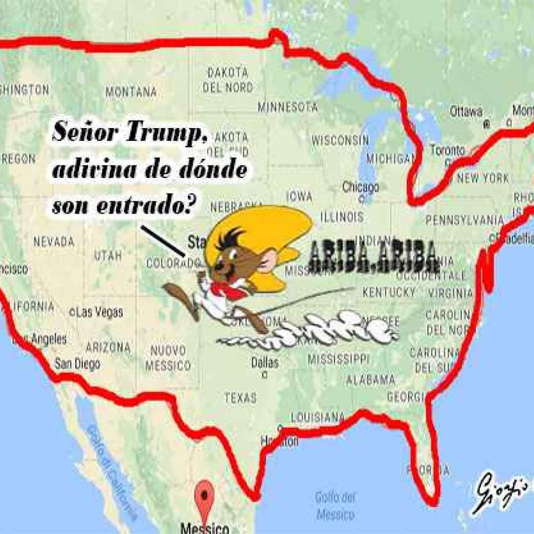 Satira - Senor Trump, adivina de donde son entrado? (Donald Trump)