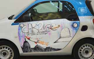 street art  car2go  carsharing