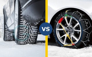 Automobili: gomme  catene  on line  neve  ghiaccio