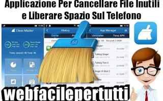 App: clean master app pulizia
