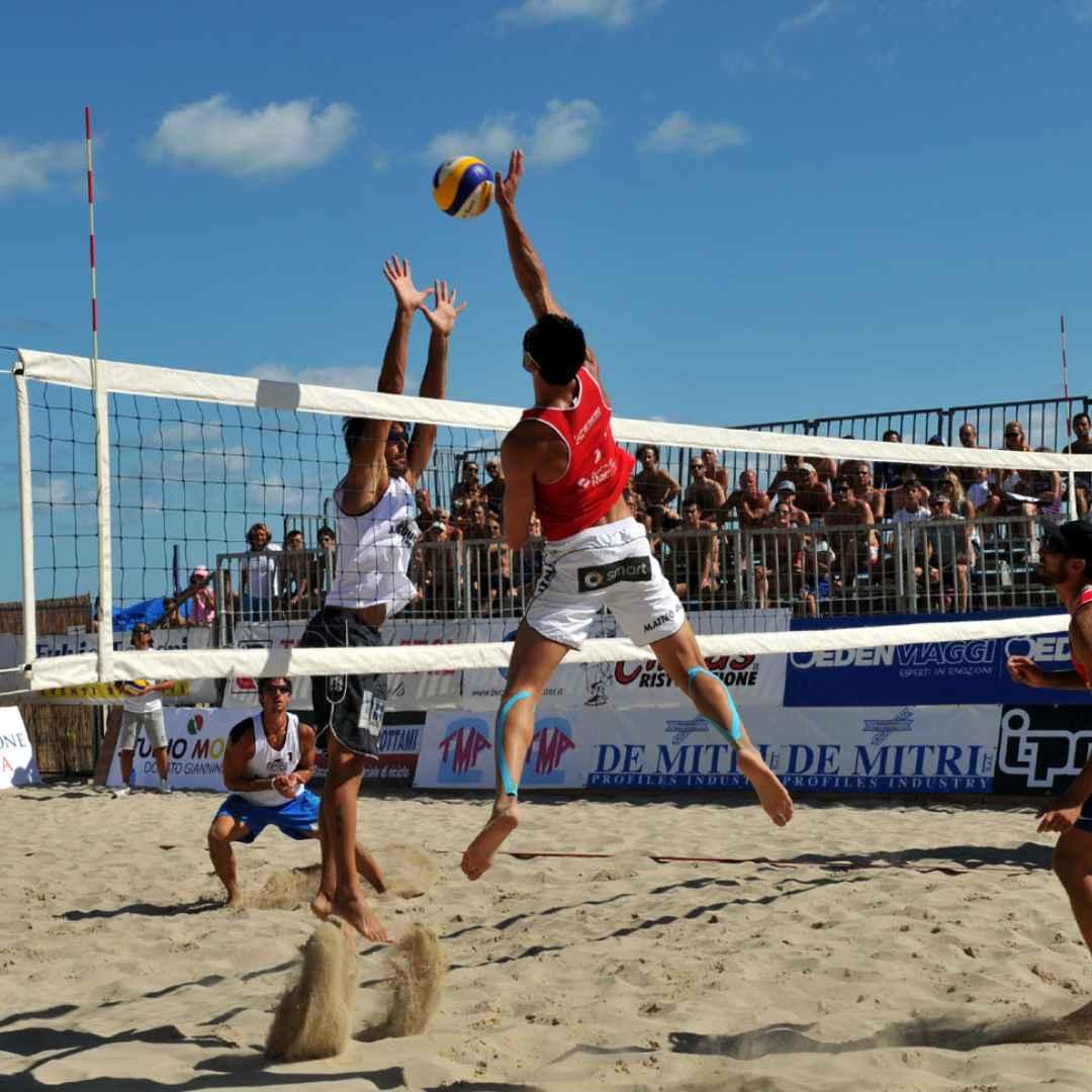 bibione  beach volley  marathon  mare