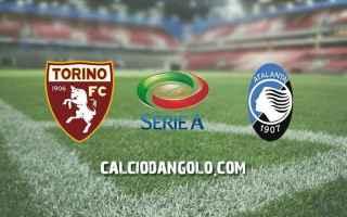 Calcio: torino  atalanta  serie a  22 giornata