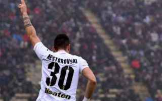 Calcio: napoli  palermo  serie a  nestorovski