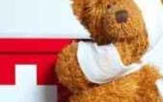 Salute: test  primo soccorso  pediatrico