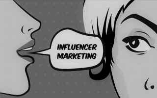 Web Marketing: influencer marketing  influencer