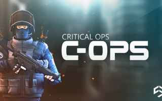 Mobile games: critical ops  sparatutto  fps  android