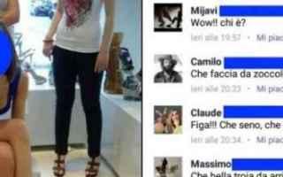 Facebook: foto intime  profili falsi