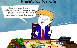 Satira: satira  trump  usa  sparatrap