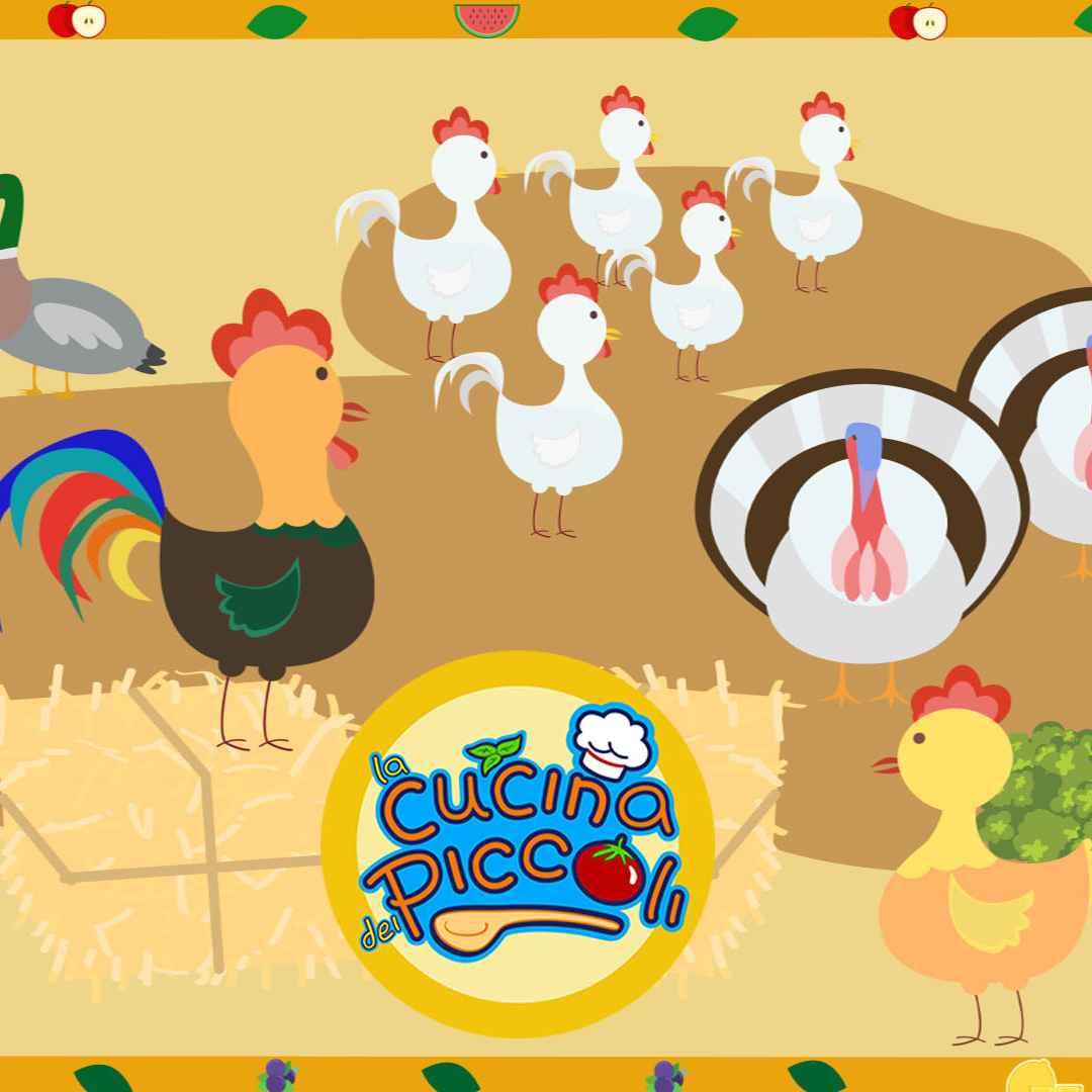 Cartoni animati per bambini margherita e gli animali