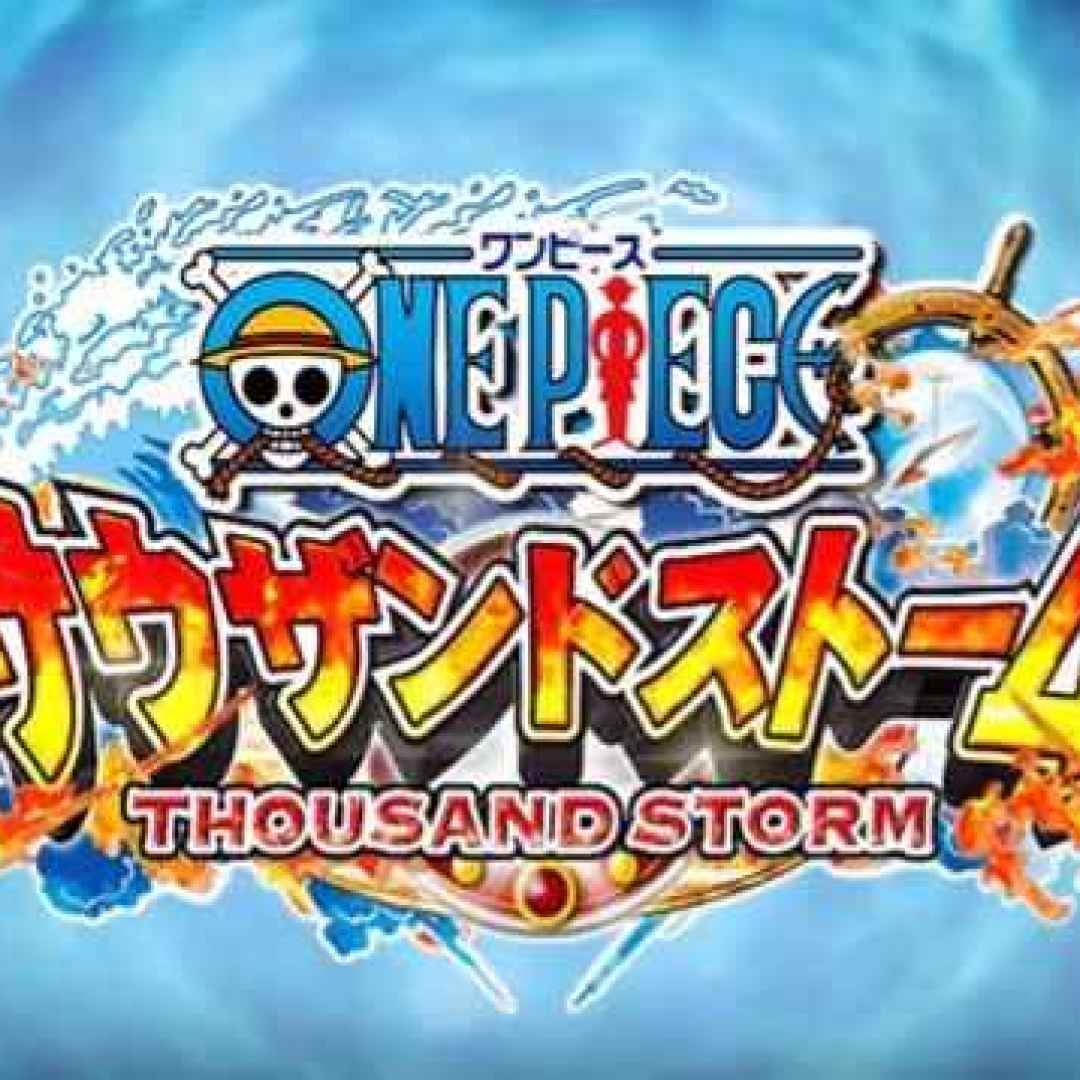 Anime one piece thousand storm videogame piratesco in