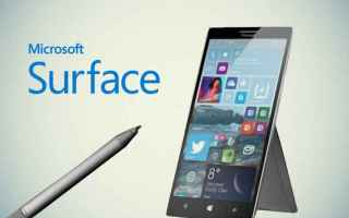 Cellulari: surface phone  microsoft  windows