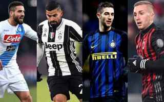 Calciomercato: calciomercato  inter  juve  milan  roma