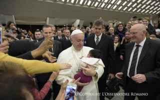 Religione: udienza  papa francesco  speranza