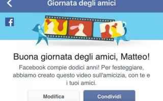 Facebook: facebook facebook amici