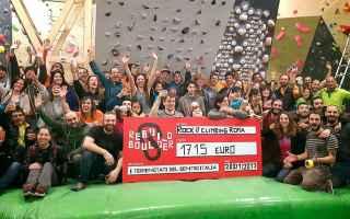 Sport: rebuild boulder  terremotati