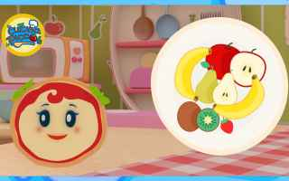 Arriva la nuova puntata del cartone animato per bambini di Margherita, la piccola cuoca! Quanta frut