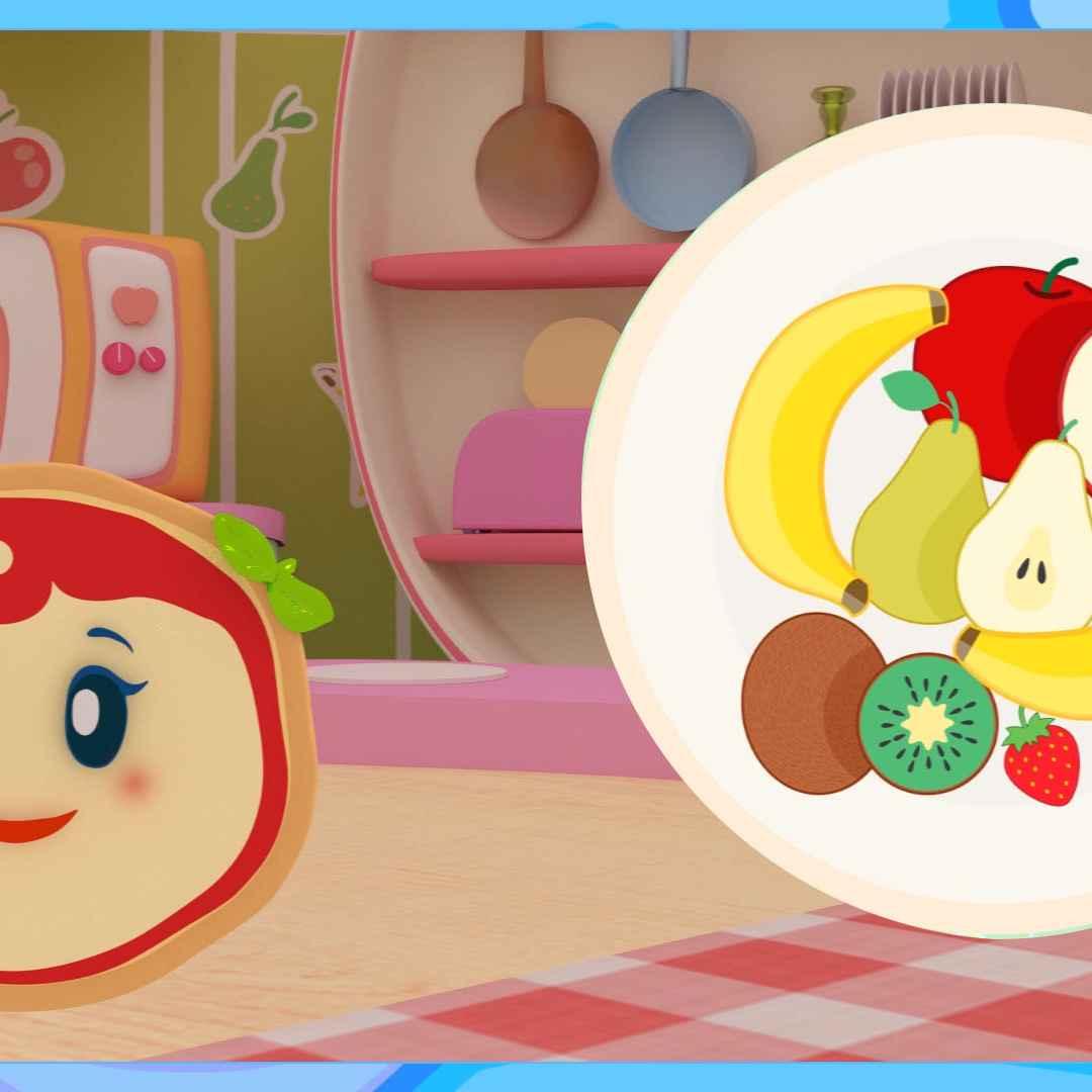 Video divertenti giochiamo con la frutta i cartoni