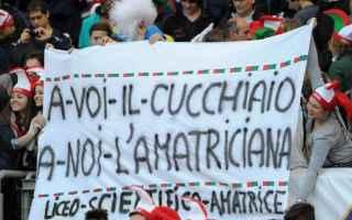 sei nazioni  italia  rugby  cucchiaio