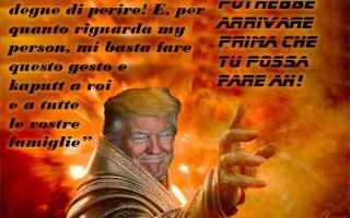 Satira: donald trump  apocalisse