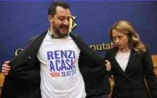 Politica: elezioni  pd  forza italia  lega  m5s