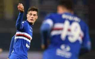 Calciomercato: inter  sampdoria  schick  icardi