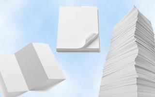 carta  stampante