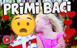 Video divertenti: bambini  bacio  baci  san valentino