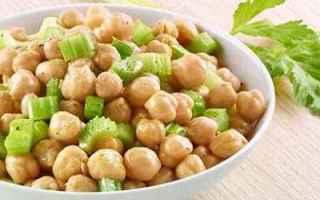 Ricette: ricetta primo ceci insalata