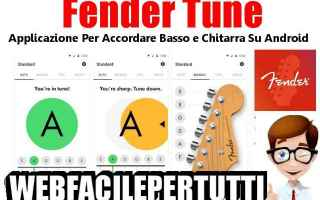 fender tune  app  android