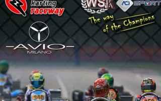Motori: karting  adria