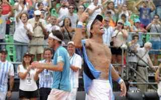 Tennis: tennis grand slam italia argentina